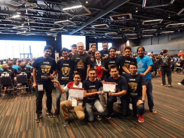 Team RoboCup 2018
